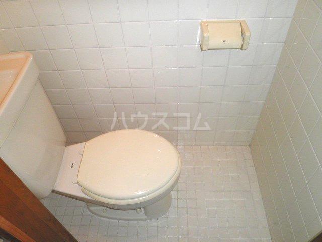 福本ハイツ1 101号室のトイレ