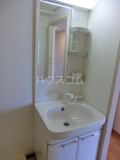 メゾン山本 401号室の洗面所