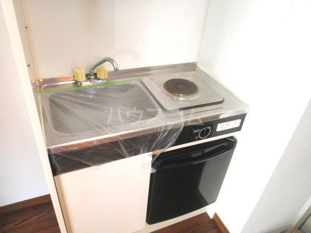 ココットネゴロ 208号室のキッチン