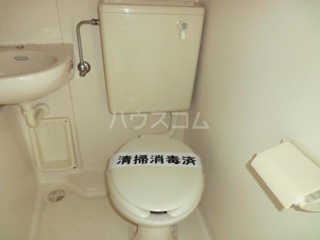 ラフォーレ助松 3B号室のトイレ