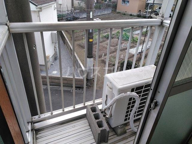 加藤コーポ 202号室のバルコニー