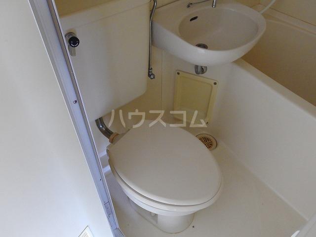 ラフィーナ21 103号室のトイレ