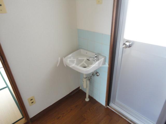 千萩マンションB棟 204号室の洗面所