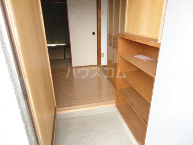 千萩マンションB棟 204号室の玄関