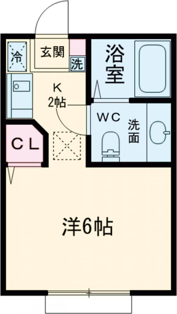 原町田ハウスメント 203号室の間取り