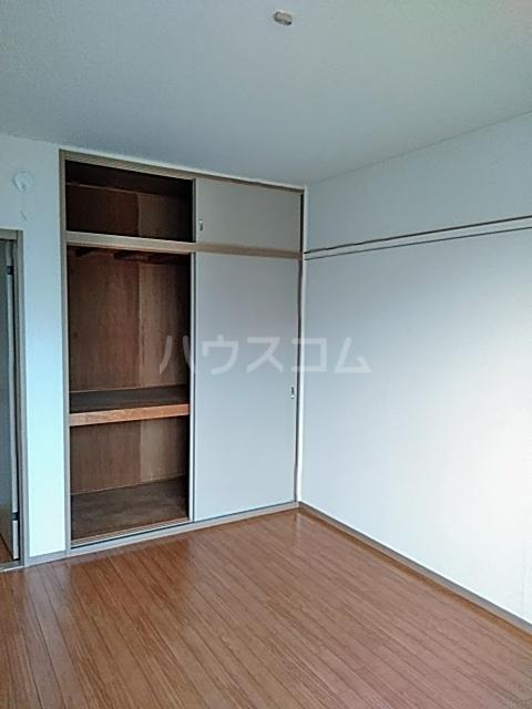 セゾンクレベールC棟 206号室の収納