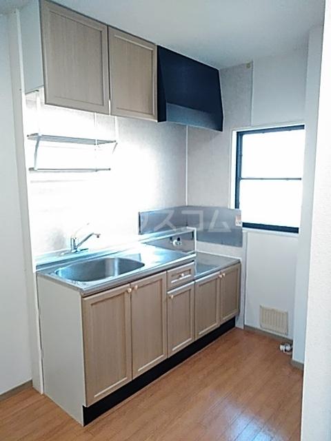 セゾンクレベールC棟 206号室のキッチン