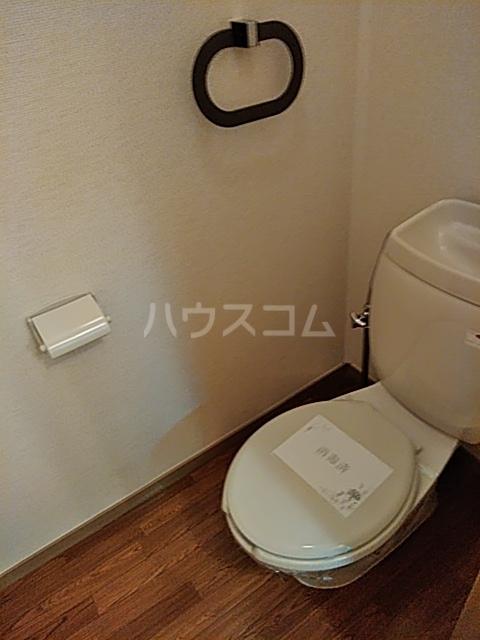 セゾンクレベールC棟 206号室のトイレ