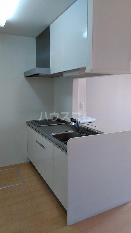 クラージュ G号室のキッチン