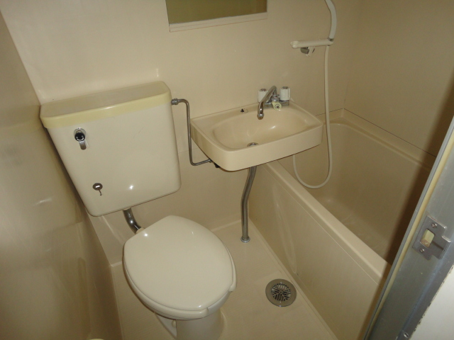 ラ・フォーレ池上 7E号室の風呂