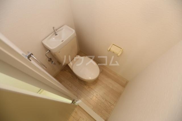 マスターズエル綾園20 805号室のトイレ