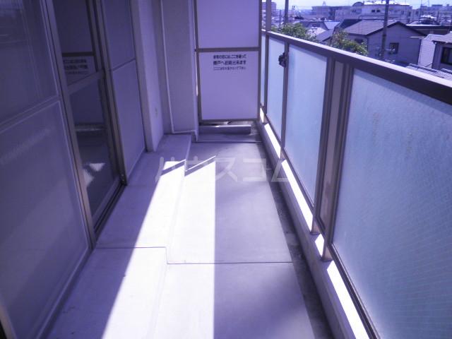 セントエルモ高石 402号室のバルコニー