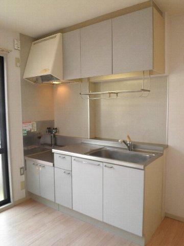 ベルキャビン 101号室のキッチン