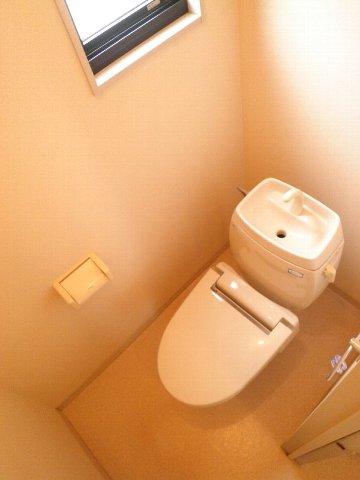 ベルキャビン 101号室のトイレ