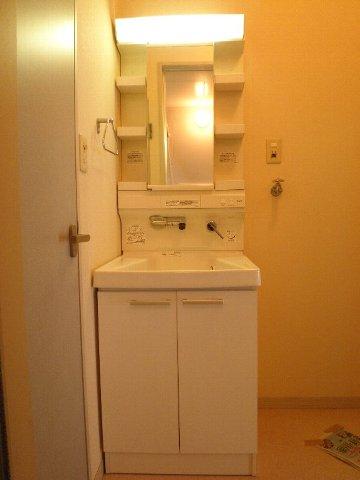 ベルキャビン 101号室の洗面所