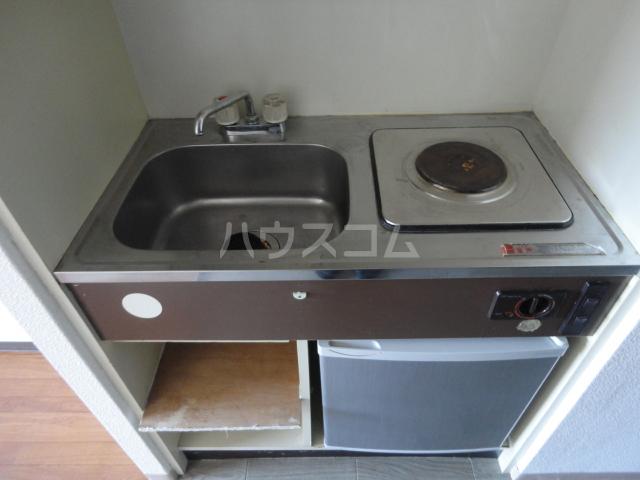 ラ・フォーレ池上 6C号室のキッチン