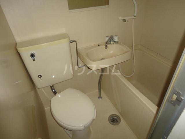 ラ・フォーレ池上 6C号室のトイレ
