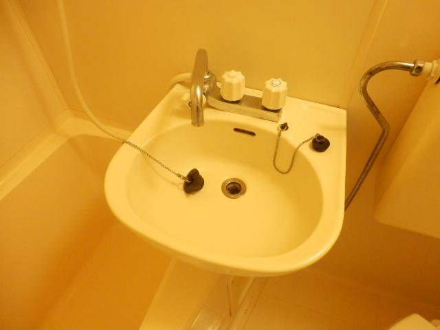 ヴィラ国立 202号室の洗面所