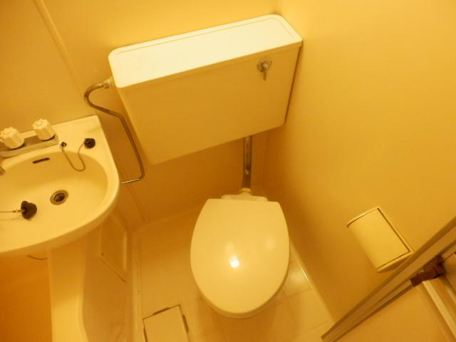 ヴィラ国立 202号室のトイレ