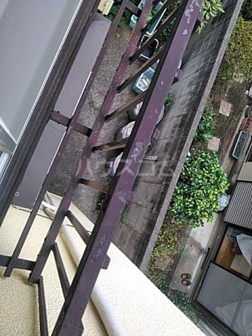 吉田荘 202号室のバルコニー