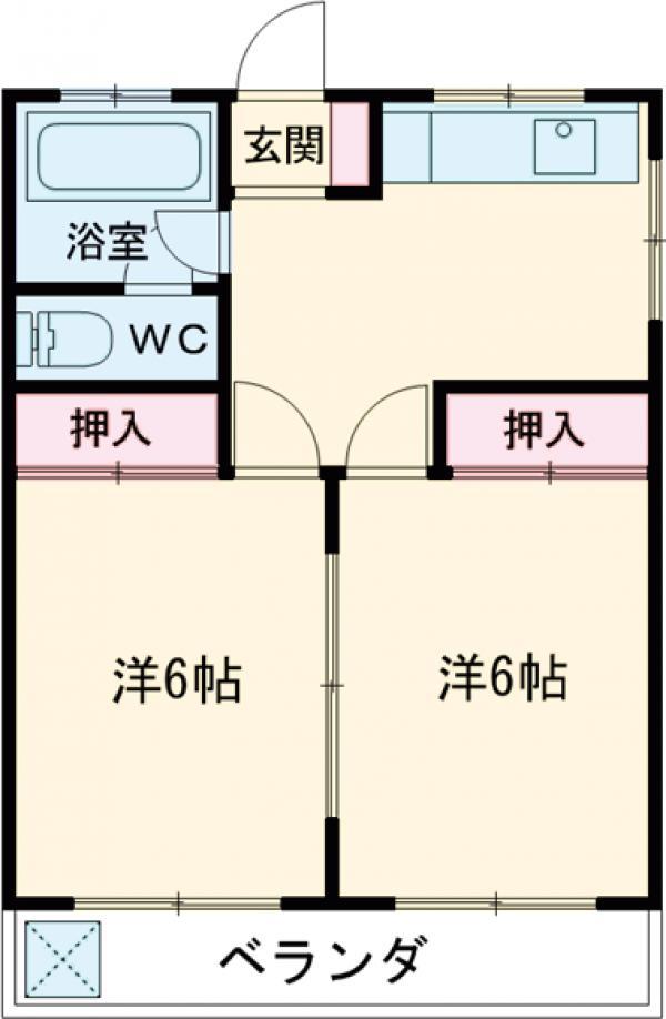 第3ひばりマンション 301号室の間取り