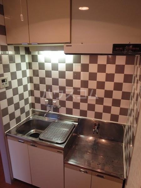 ASCEND C号室のキッチン