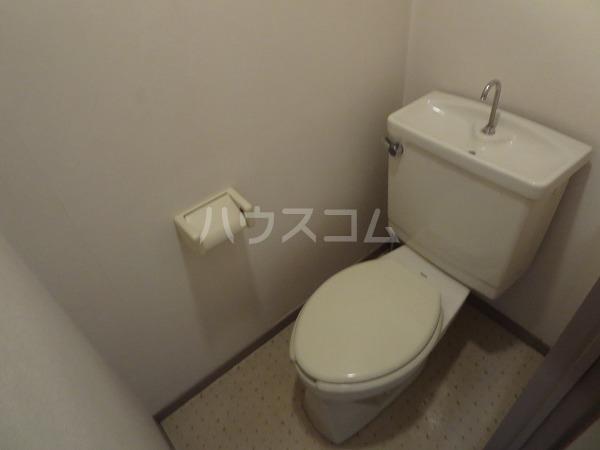 ASCEND C号室のトイレ