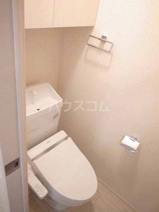 グリーンハイツ八坂東 102号室のトイレ