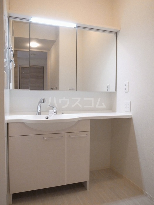 グリーンハイツ八坂東 102号室の洗面所
