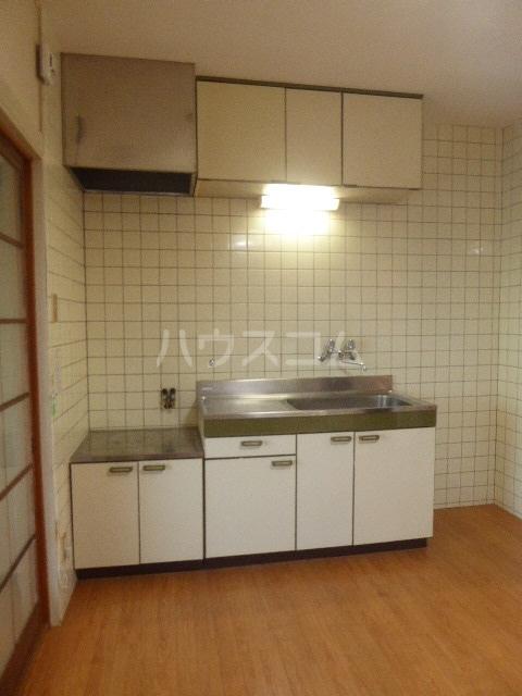 竹ノ下コーポB 3号室の玄関