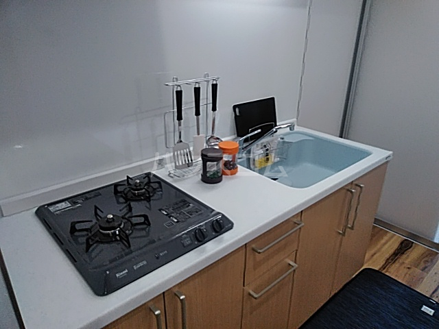 ハイミクス清水銀座 203号室のキッチン