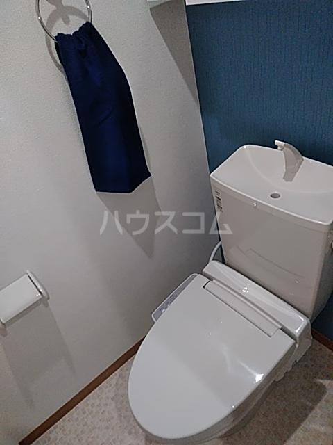 ハイミクス清水銀座 203号室のトイレ