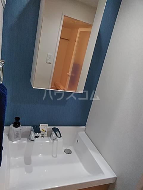 ハイミクス清水銀座 203号室の洗面所