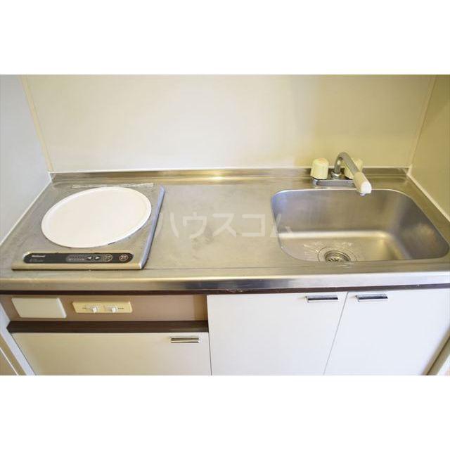 フラットヨシダ 201号室のキッチン