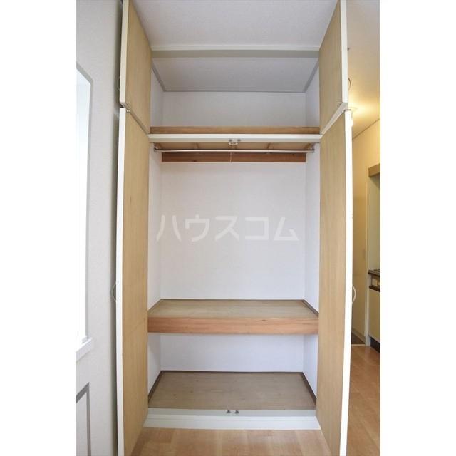 フラットヨシダ 201号室の収納