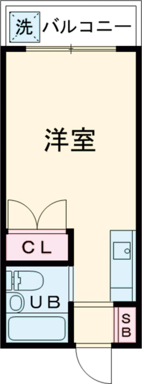 エクレール仙川PartⅡ・207号室の間取り