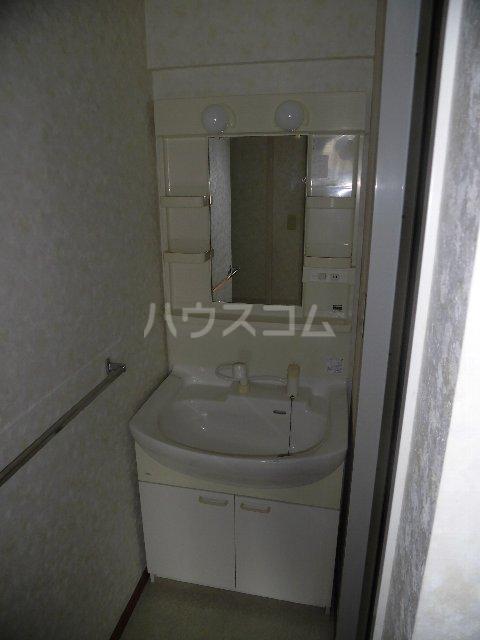 エスパスハマノ 501号室の洗面所