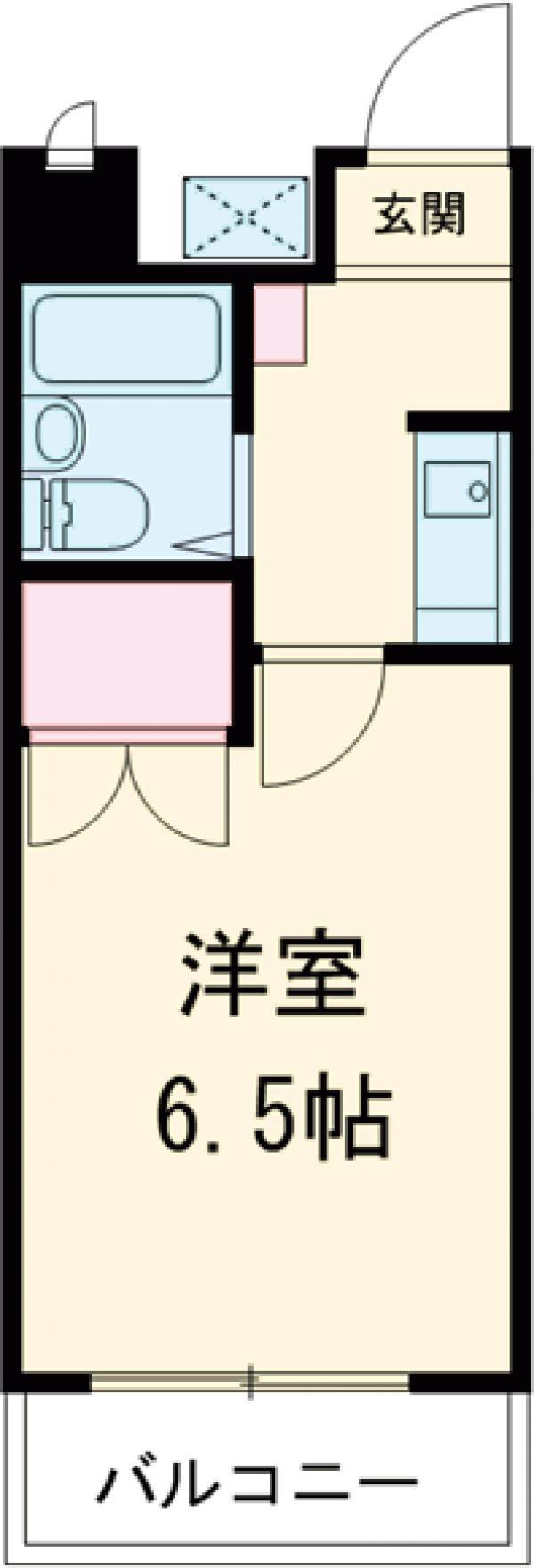 ハイツAMEYA・304号室の間取り