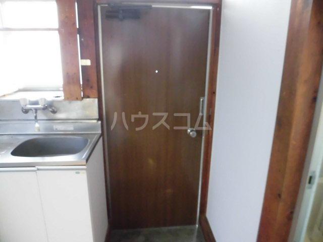第3矢嶋荘 203号室の玄関