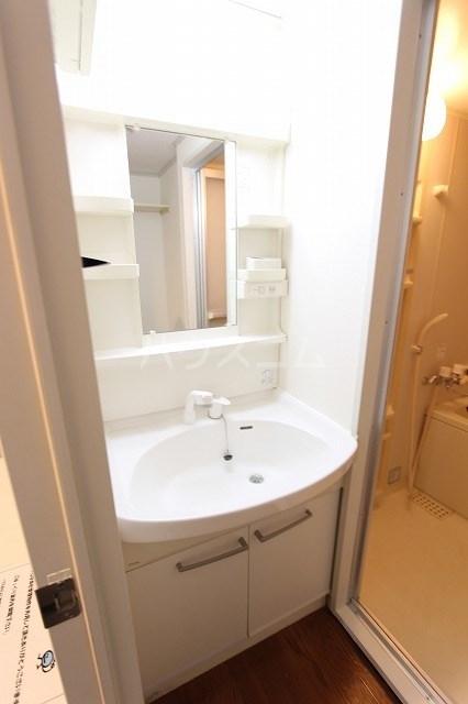 エンブレム 203号室の洗面所