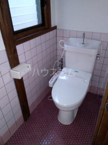 堀田借家 Bのトイレ