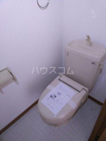キャプリコーン エス B 103号室のトイレ