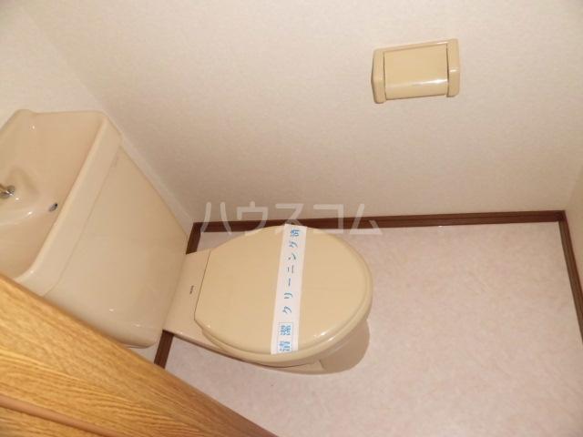 ウィステリアⅤ 102号室のトイレ