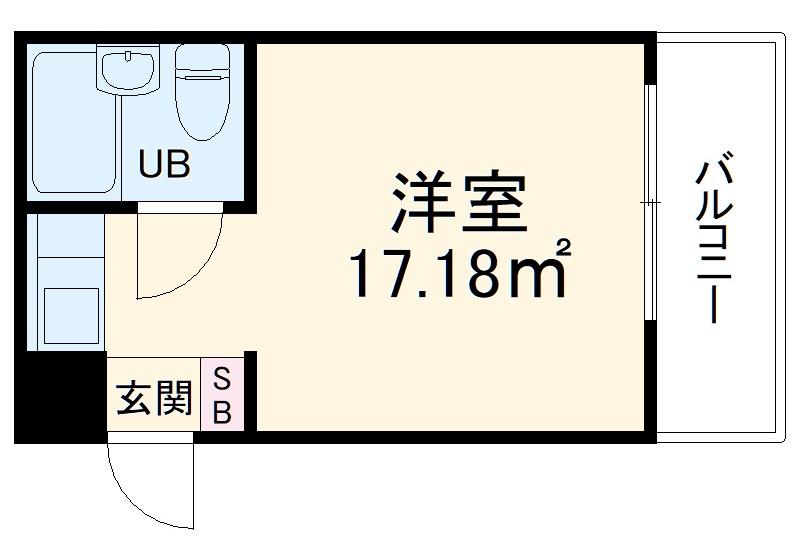 チサンマンション桜通久屋 210号室の間取り