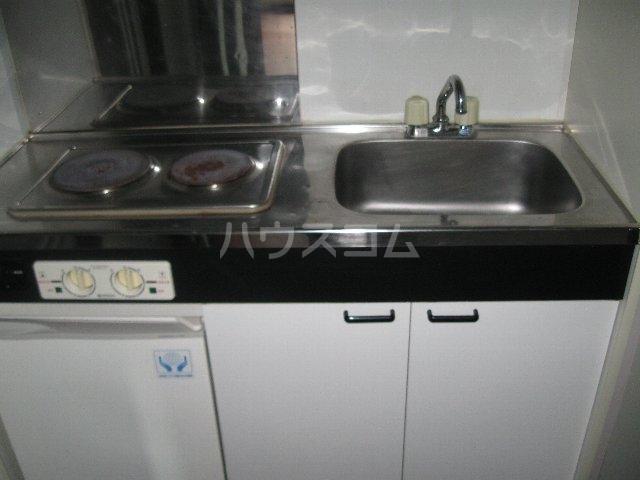 プリンセス泉 303号室のキッチン