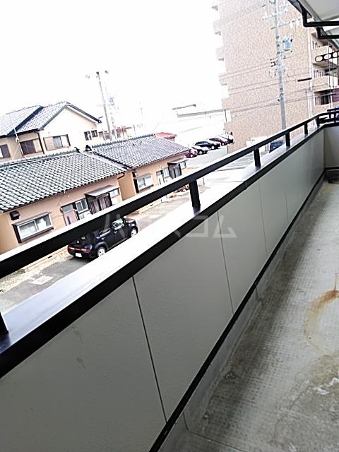 シティ・ナカヤマ A 202号室のバルコニー