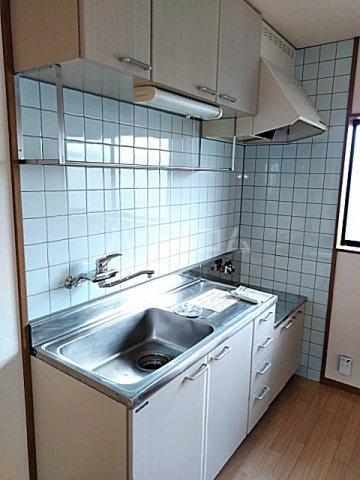 シティ・ナカヤマ A 202号室のキッチン