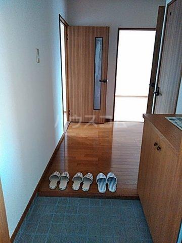 シティ・ナカヤマ A 202号室の玄関