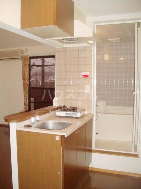 セザンヌ多米 205号室のキッチン