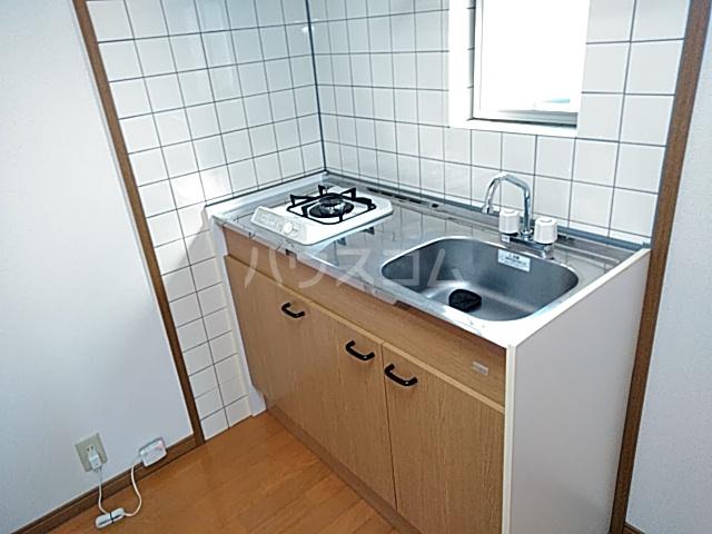 アズール5 102号室のキッチン